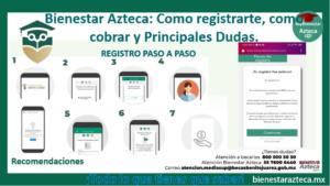 Bienestar Azteca Como registrarte, como cobrar y Principales Dudas