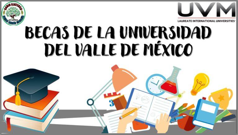 Becas de la Universidad del Valle de México 2021 Convocatoria