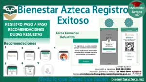 bienestar azteca registro exitoso