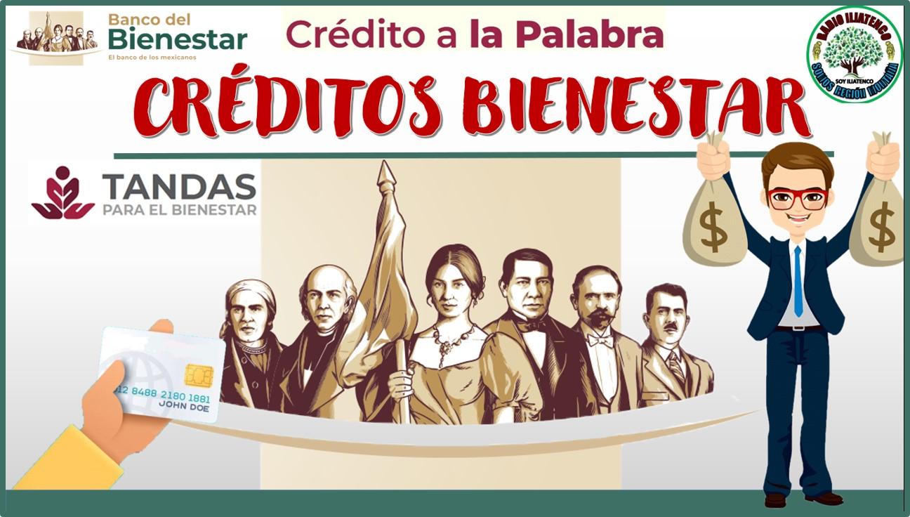 Créditos Bienestar 2021